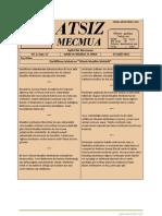 Atsız Mecmua - Sayı 17