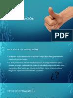 Lenguajes y Automatas 2 - Optimización