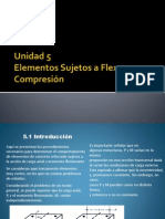 Unidad 5 Flexo-Compresión