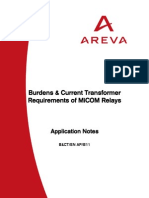 Current Transformer Application Guide