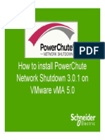 Installing PCNS 3.0.1 on ESXi-VMA 5.0