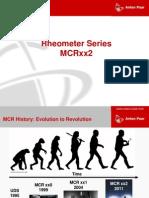 Rheometer Family MCRxx2