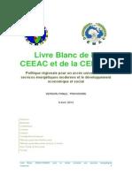 Livre Blanc de la CEEAC et de la CEMAC