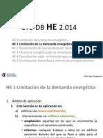 CTE DB HE1 2014