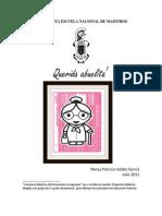 Proyecto Alfabetización inicial Querida Abuelita