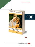 26 Steps to a Lasting Relationship © 2014, O. G Pius.