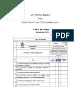 listasdechequeodiagnosticobpmpoliticaambiental-111022152340-phpapp02
