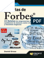 Historias de Forbes_ 15 Relatos - Daniel Gross