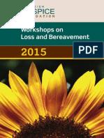 2015 Workshop Brochure