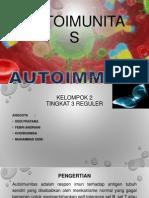 Autoimunitas Kel 2 Tingkat 3 Reguler