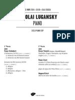 20141123 | Programa Sala Nicolai Lugansky | Ciclo Piano EDP