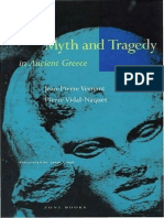 Naquet Vidal Pierre Vernant Pierre Jean Myth and Tragedy in Ancient Greece 1996
