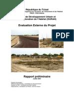 Projet de Développement Urbain et d'Amélioration de l'Habitat (DURAH) Evaluation Externe du Projet