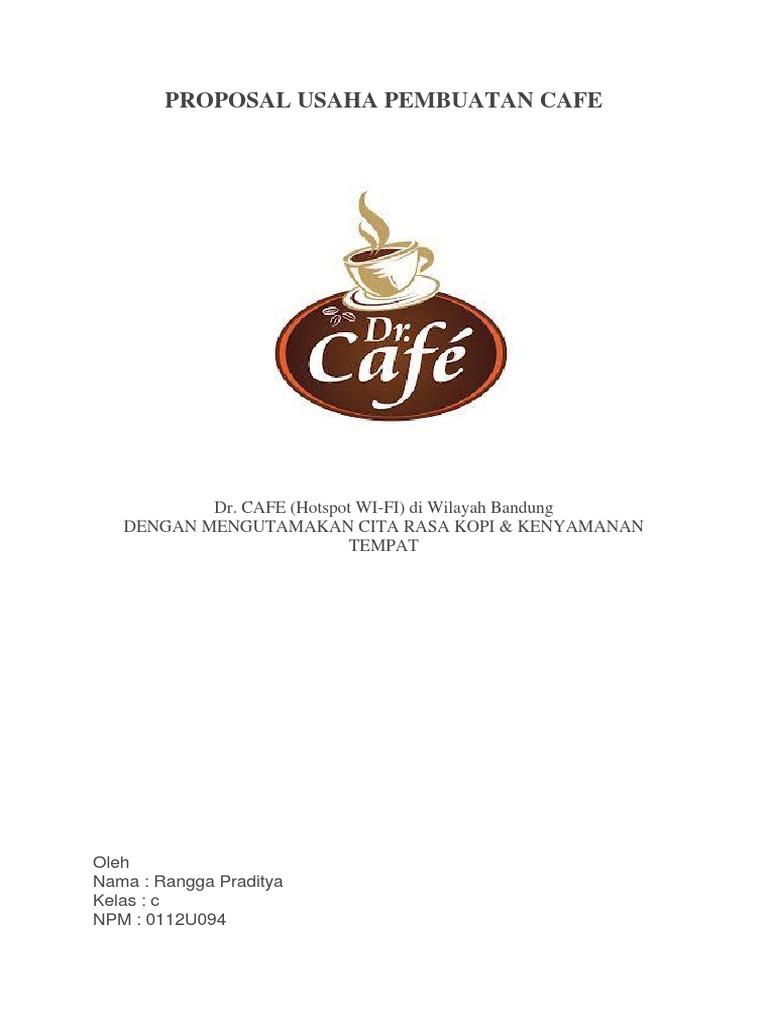 Contoh Proposal Usaha Cafe Kopi Pdf Goresan