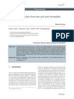 Biodiesel production from low cost and renewable feedstock