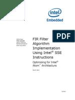 Fir Filter Sse Instructions Paper