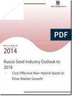 Russia Seed Industry Market Share, Size, Trends and Development Report