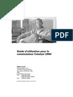 Guide d'Utilisation Du Switch Catalyst 2960