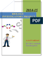 Biology Investigatory