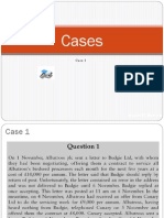 Case Questions ACCA F4