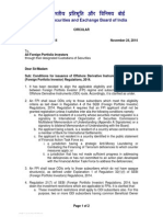 Conditions for issuance of Offshore Derivative Instruments under SEBI (Foreign Portfolio Investor) Regulations, 2014