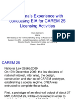 Carem Licensing Activities