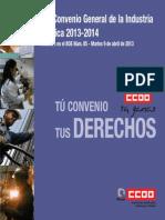 Convenio INDUSTRIA QUIMICA 2014