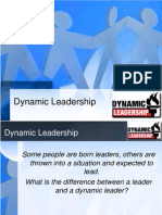 Dynamic Leadership
