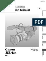 Canon XL1S Insruction Manual_CUG_EN
