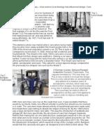 How Technology Has Influenced Car Design