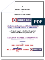 Gagan Puri HDFC CASA Report