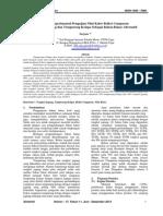 Studi Eksperimental Pengujian Nilai Kalor Briket Campuran    Tongkol Jagung dan Tempurung Kelapa Sebagai Bahan Bakar Alternatif