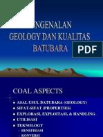 Pengenalan Geology Batubara