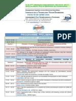 Programme INVACO 2014