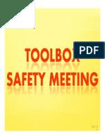 14. Toolbox Meeting