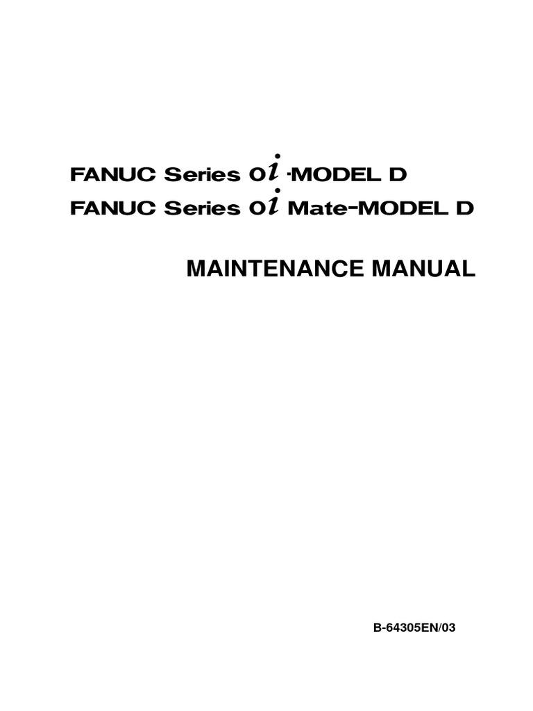 fanuc maintenance manual 64305en high voltage input output rh es scribd com