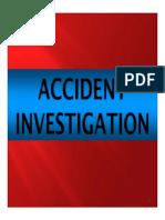 13. Accident Investigation