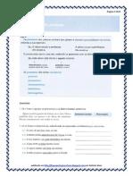 Pronomes - exerc. subclasses