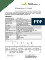 DC voltage sensor for PLC