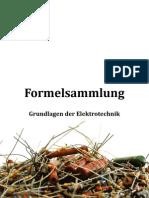 Formelsammlung Grundlagen der Elektrotechnik