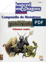 AD&D - Compendio de Monstruos, Vol IV Reinos Olvidados