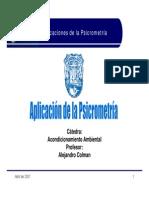 Aplicacion de La Psicrometria
