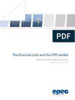 The Financial Crisis and the PPP Market