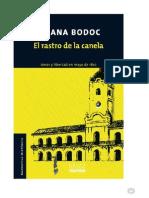 Bodoc, Liliana - El Rastro de La Canela