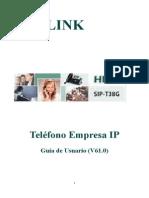 Manual Yealink t20p