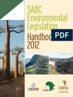 2012 - SADC Handbook - Socioenvironmental Law