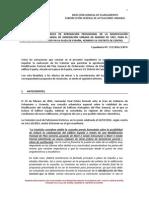 Desestimación alegaciones Ed. España nov. 2014