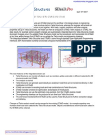 Tekla StruTekla Structure Analysis & Design Link With Analysis Softwarecture Analysis & Design Link With Analysis Software
