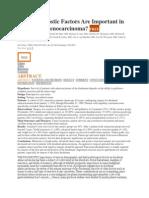 What Prognostic Factors Are Important in Duodenal Adenocarcinoma