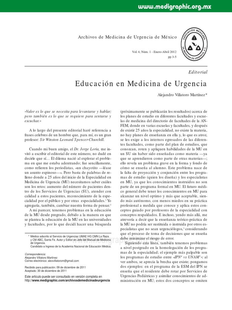 Urgencias Paramédico Maestros